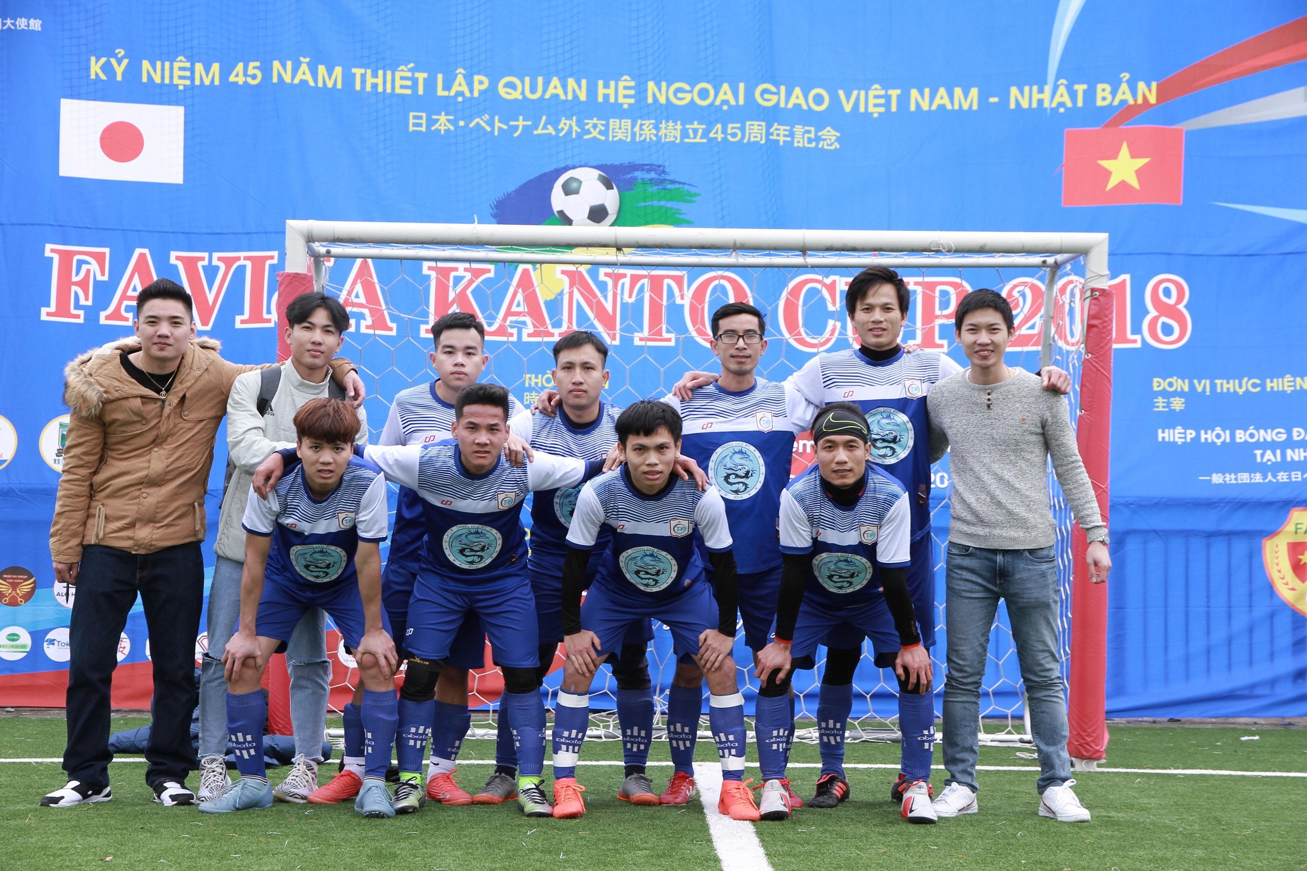 GIẢI BÓNG ĐÁ FAVIJA KANTO CUP 2018.