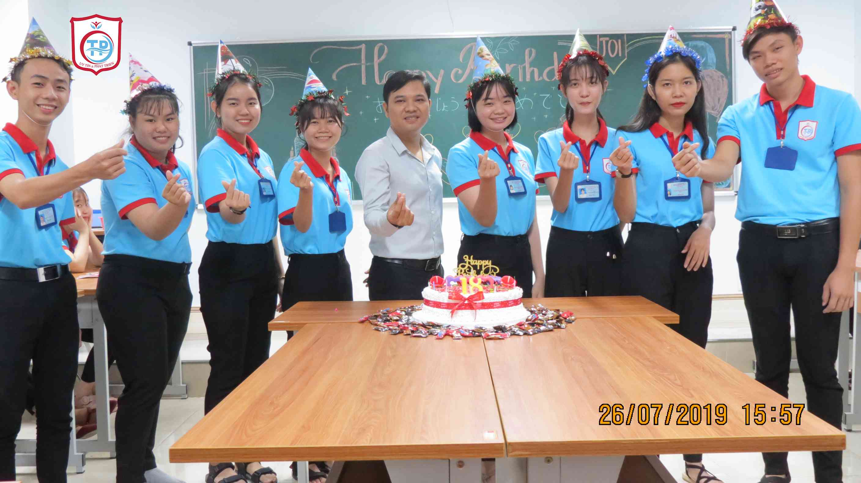 Sinh nhật tháng 7 học sinh Tín Phát Hồ Chí Minh