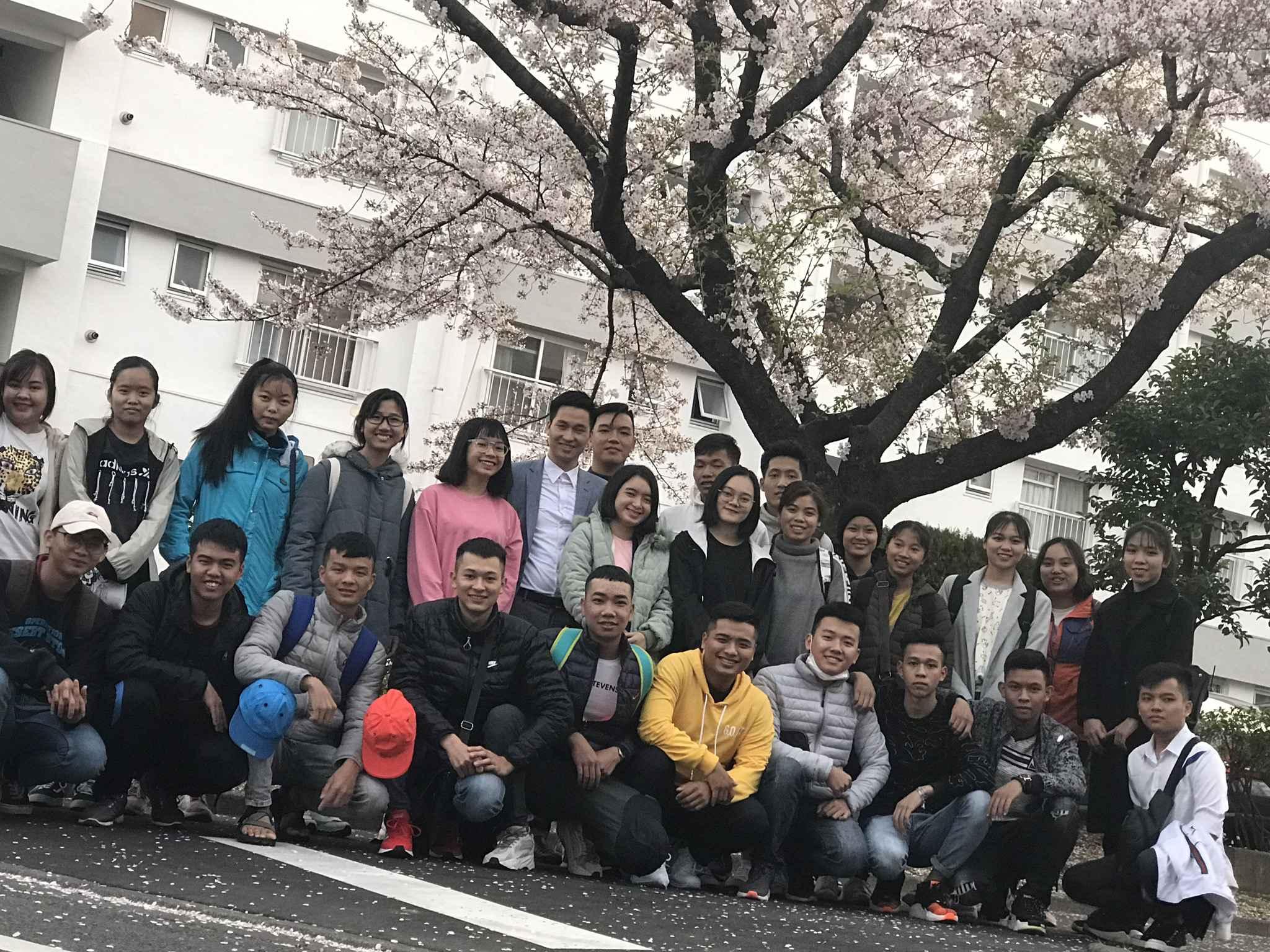 Học sinh của Du học Tín Phát tại Nhật