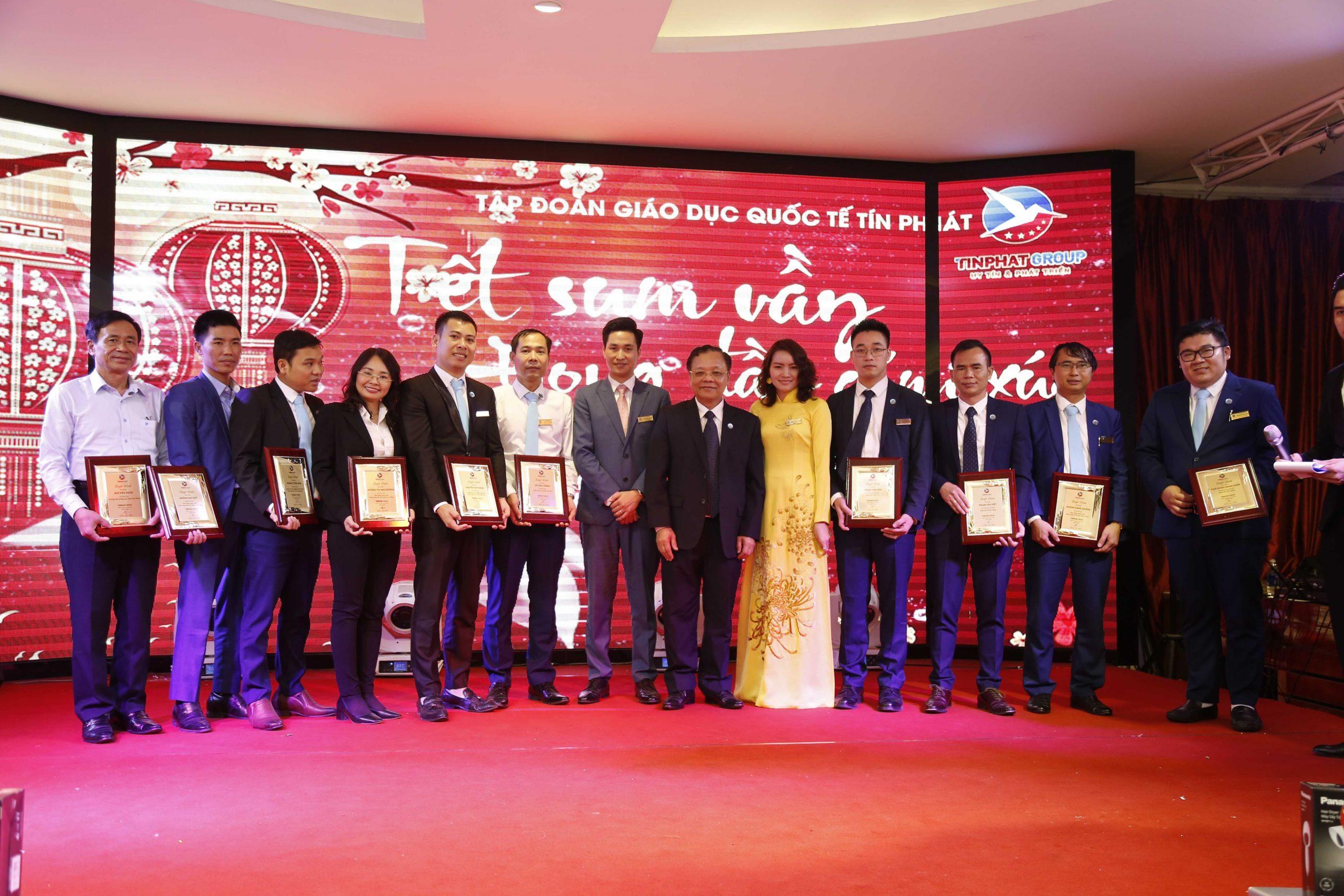 Tổng kết tất niên Tín Phát Group 2019