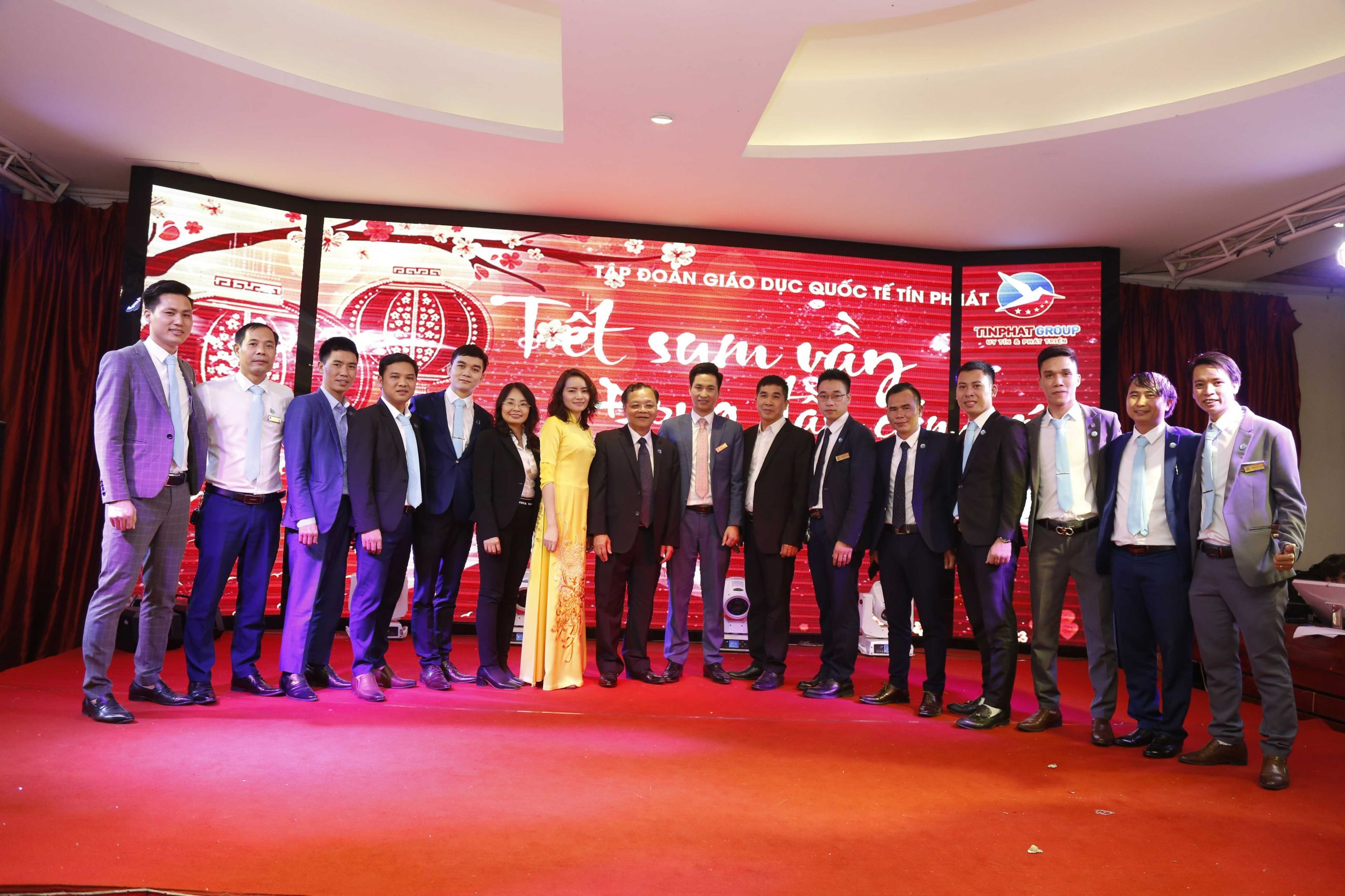 Tổng kết tất niên Tín Phat Group 17/01/2020