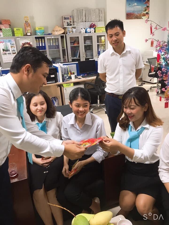 Khai xuân văn phòng Tín Phát Hồ Chí Minh 2020