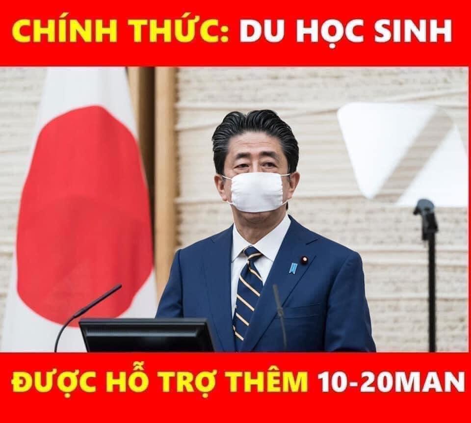 Tin chính thức – Du học sinh được nhận thêm 10-20 Man từ Chính phủ Nhật Bản
