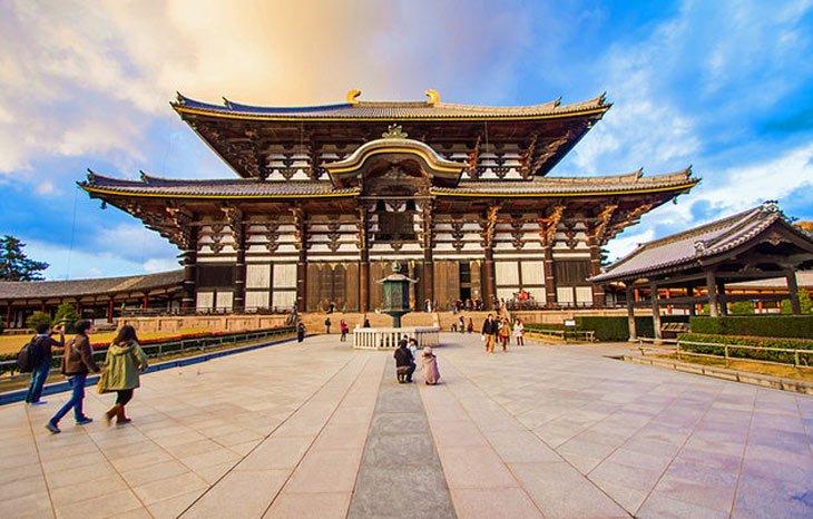 Ngôi chùa gỗ Horyu-ji sau 1.500 năm vẫn đứng vững sau chiến tranh, thiên tai khốc liệt
