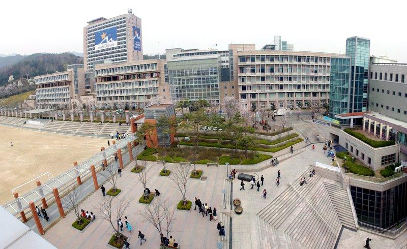 Trường đại học Kookmin – ngôi trường xanh ở Hàn Quốc