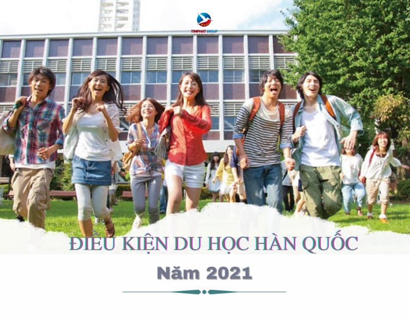 Điều kiện du học Hàn Quốc 2021
