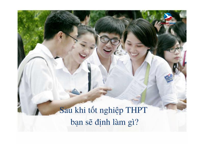 Hướng đi nào tốt nhất sau khi tốt nghiệp THPT?
