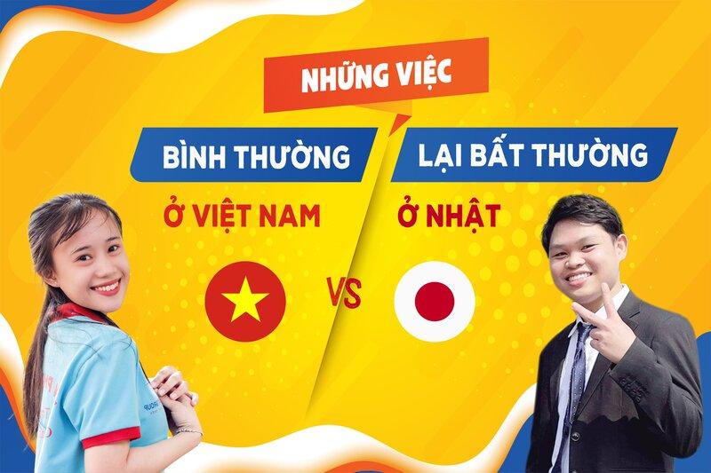 """Những việc làm ở Việt Nam thì """"bình thường"""" nhưng lại """"bất thường ở Nhật Bản""""!!"""